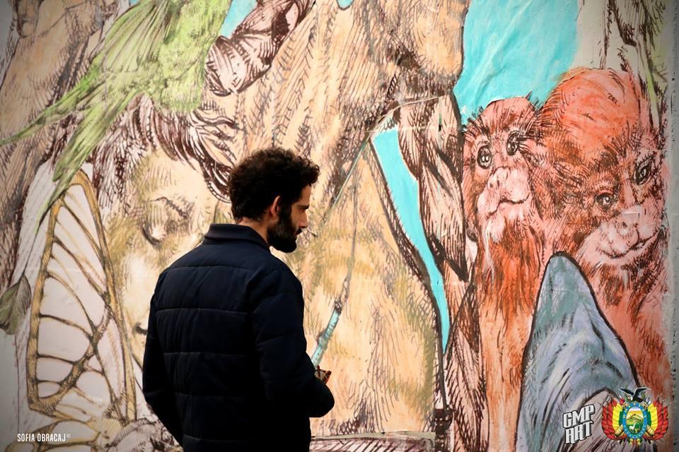 Street Art con Giovanni Manzoni.