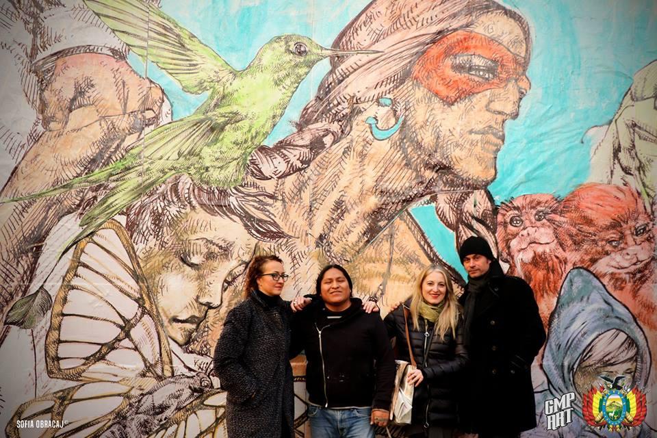 Street Art con Giovanni Manzoni. Sotto la Coronilla