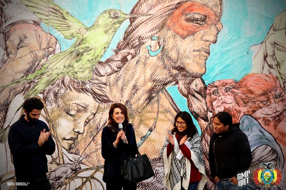 Street Art con Giovanni Manzoni. Inaugurazione