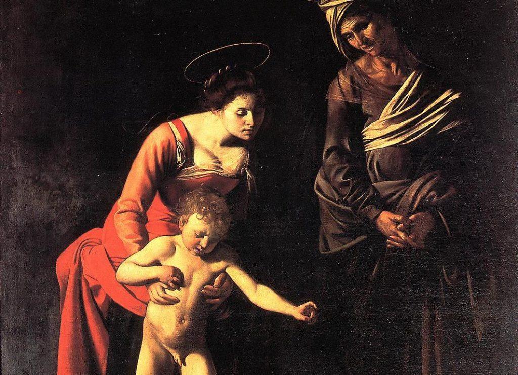 Caravaggio al cinema. La Madonna dei Palafrenieri a Roma