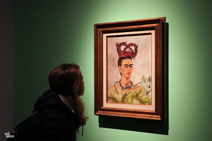 Frida Kahlo e il suo Autoritratto con Treccia