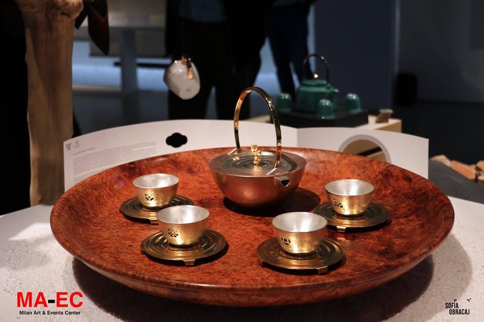 Cong Ma. Servizio da tè