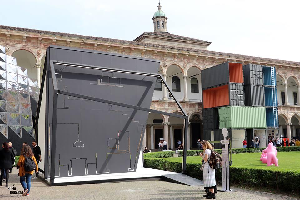 Interni. House in Motion, installazioni in Università Statale
