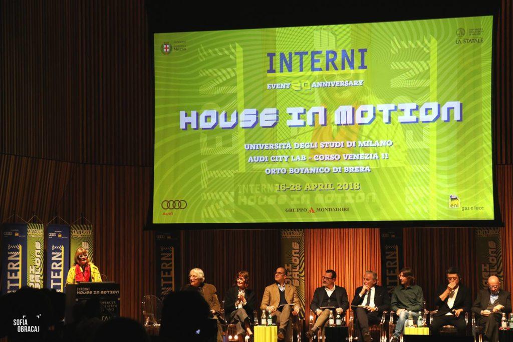 Interni. Conferenza stampa Fuorisalone 2018 House in Motion