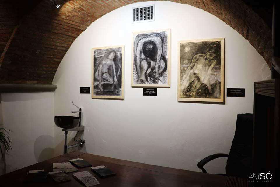 Immagini dall'Esistenza. Sala di Biondo nella psico-gallery italiana Anisé