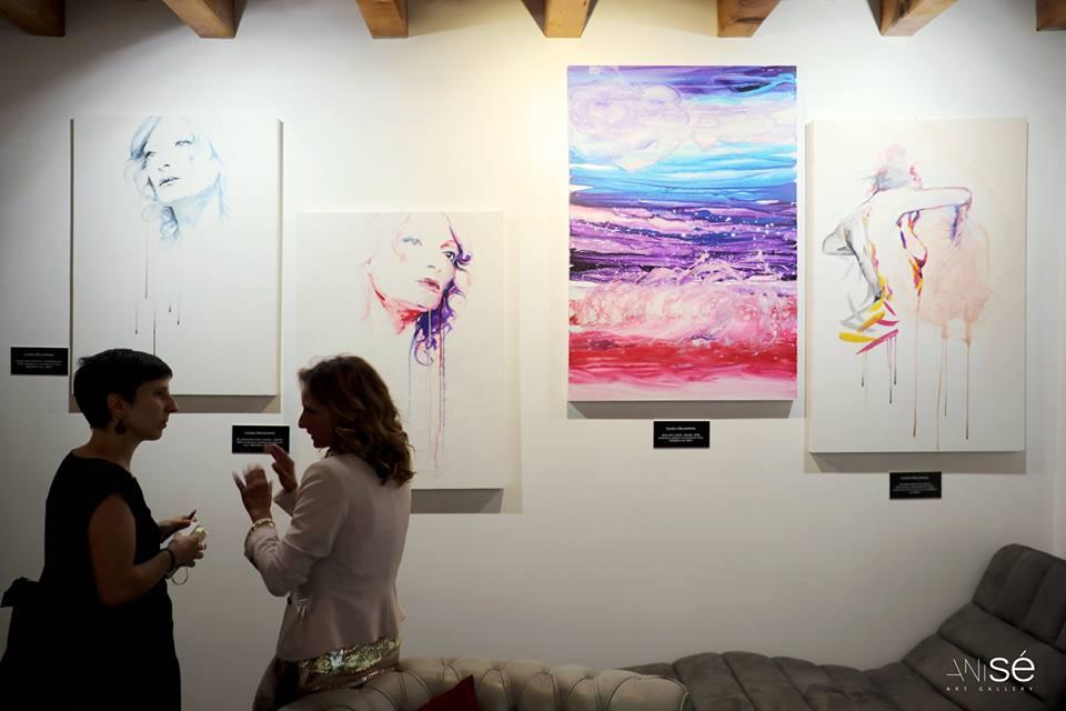 Immagini dall'Esistenza. Sala di Orlanini nella psico-gallery italiana Anisé