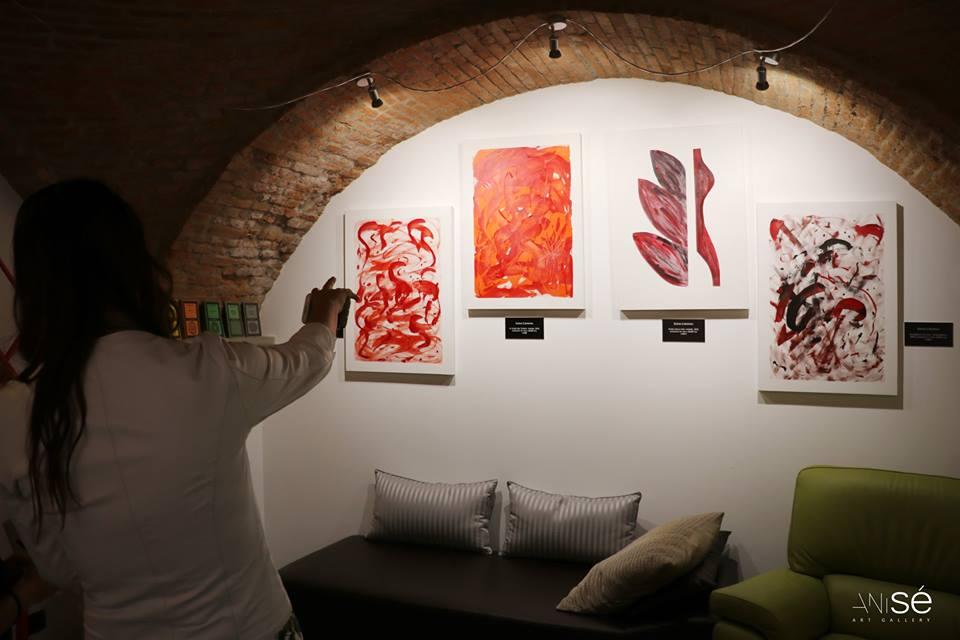 Immagini dall'Esistenza. Sala di Cavanna nella psico-gallery italiana Anisé