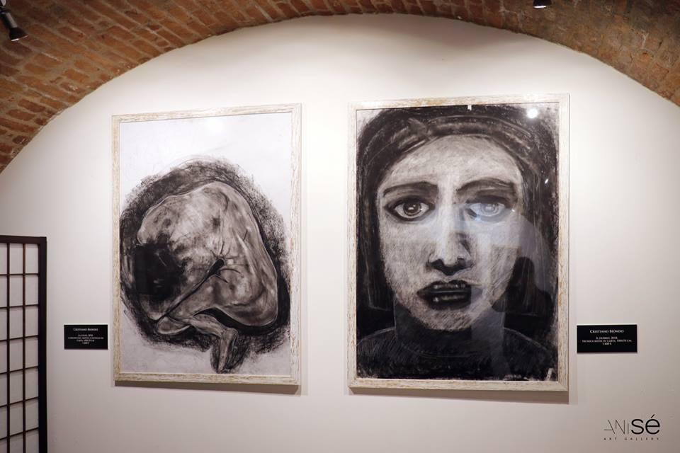 Immagini dall'Esistenza. Lavori di Biondo nella psico-gallery italiana Anisé