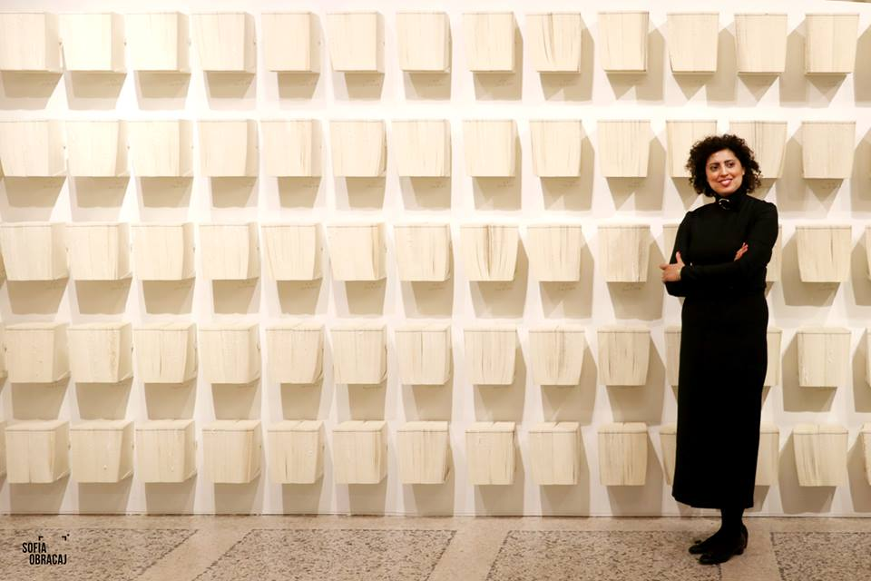 Guggenheim a Milano. la curatrice Sara Raza