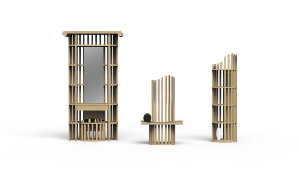 Catanzaro è Materia Design Festival. Render di Studio Ito