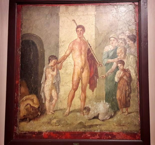 Picasso Metamorfosi. Un affresco pompeiano