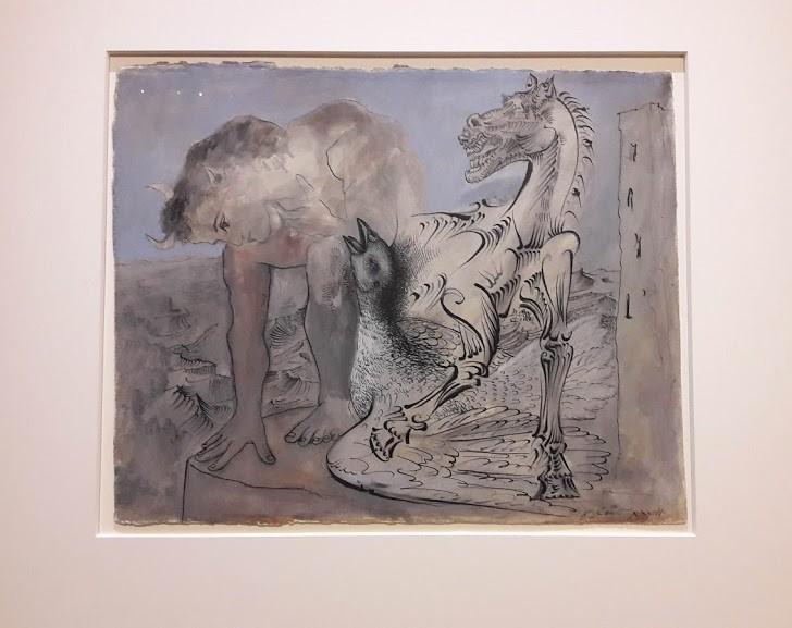 Picasso Metamorfosi. Mitologia a gouache
