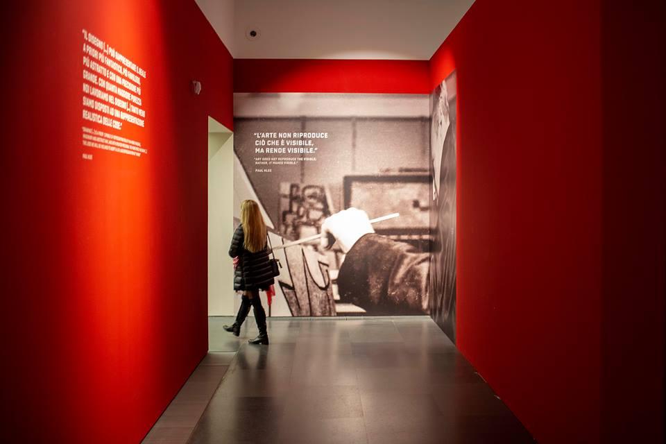 Paul Klee. Alle origini dell'arte. Gli ulitmi pannelli prima del bookshop