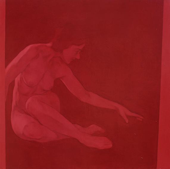 Ricerca sull'enigma con Sehen, dipinto di Simone Geraci