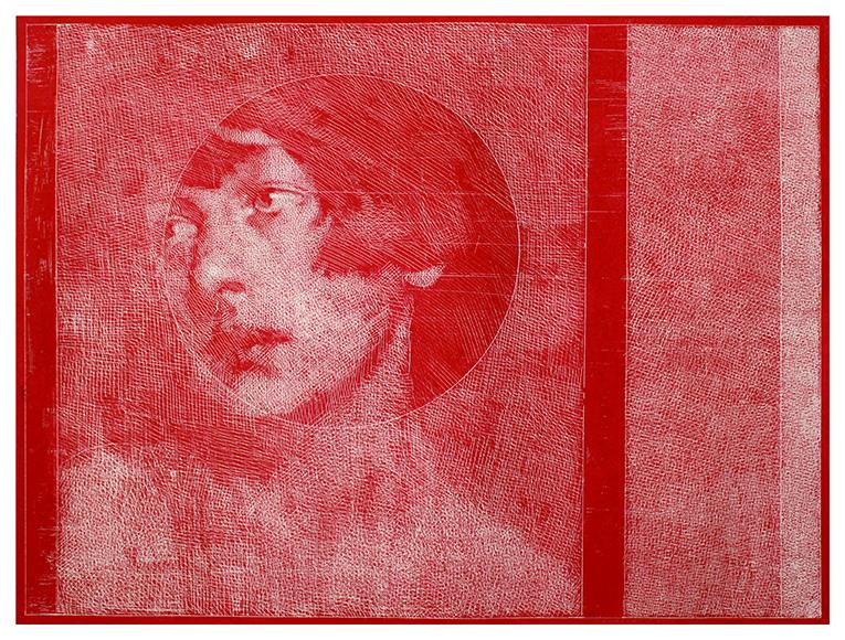 Ricerca sull'enigma, Der Traum, acquaforte di Simone Geraci