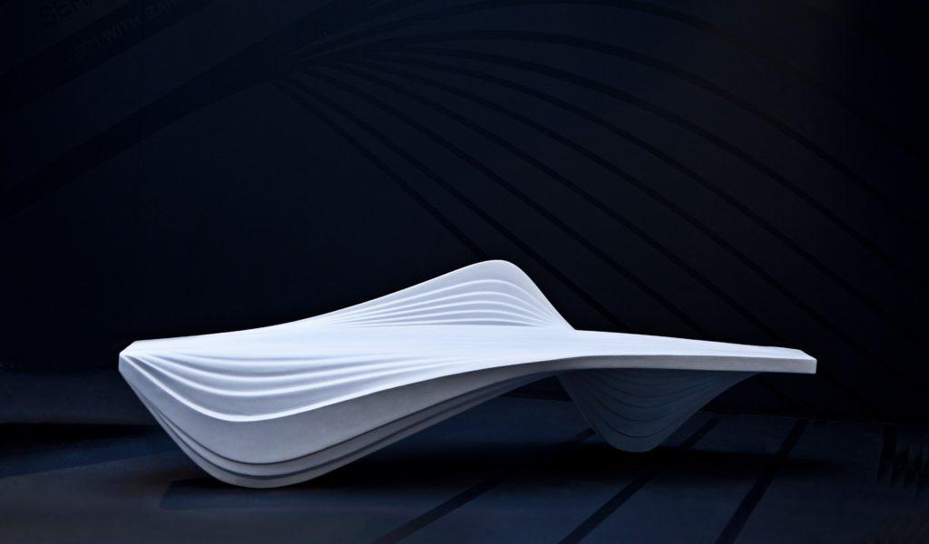 Zaha Hadid Design, panca Serac