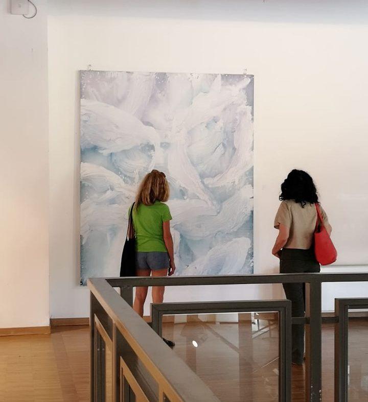 Contemporary Art Milan. Dipinto di Rotocol