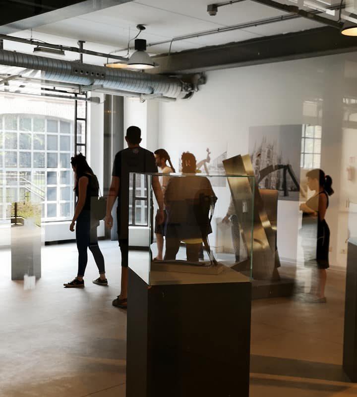 Contemporary Art Milan. Sala di Ramous