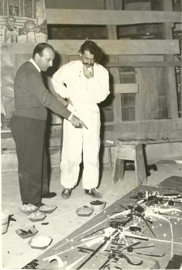 La collezione Ghigi-Pagnani. Pagnani e Mathieu discutono