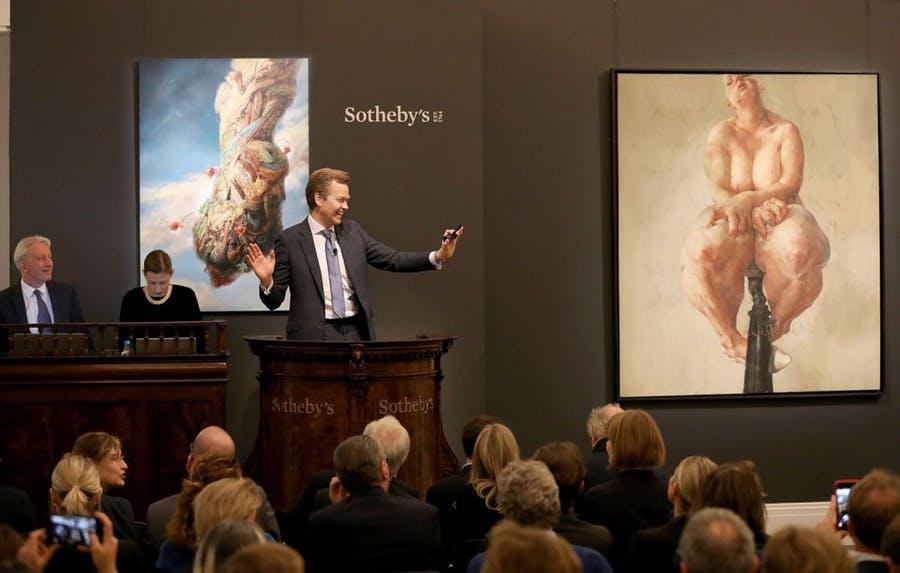 Il Mercato dell'Arte. Report di Deloitte. Sotheby con J. Saville
