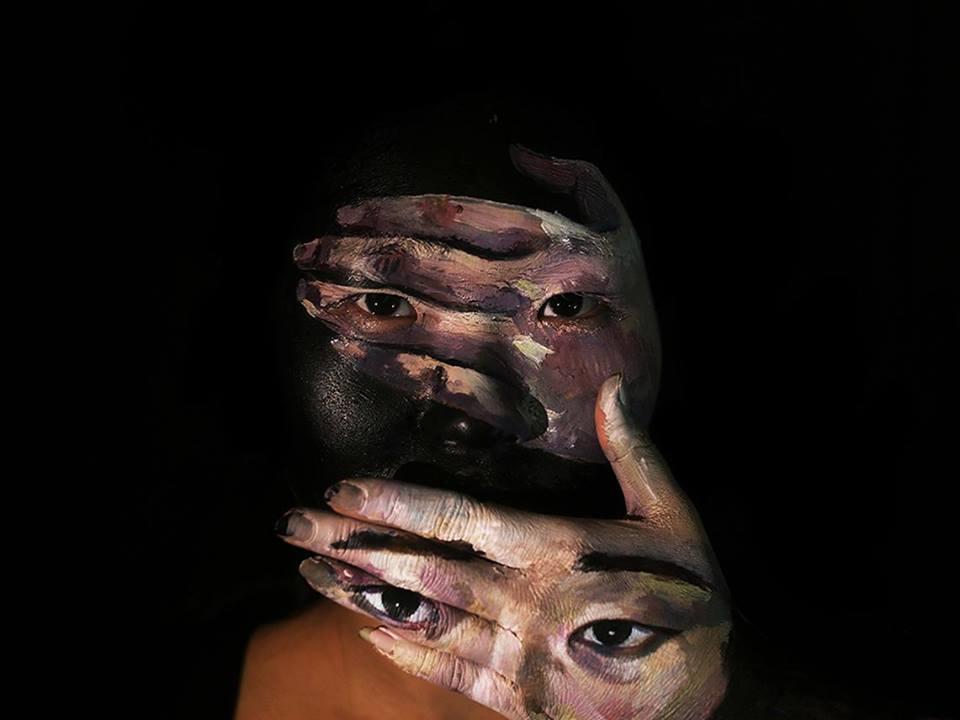 Hu Huiming e illusione ottica in un video