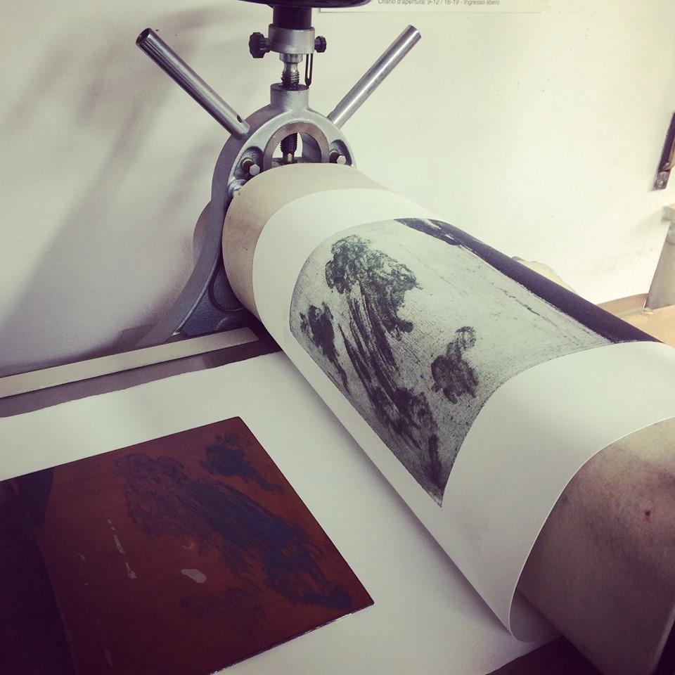 Desiderio in mostra presso Spazio Arte Tolomeo- Torchio Antonello
