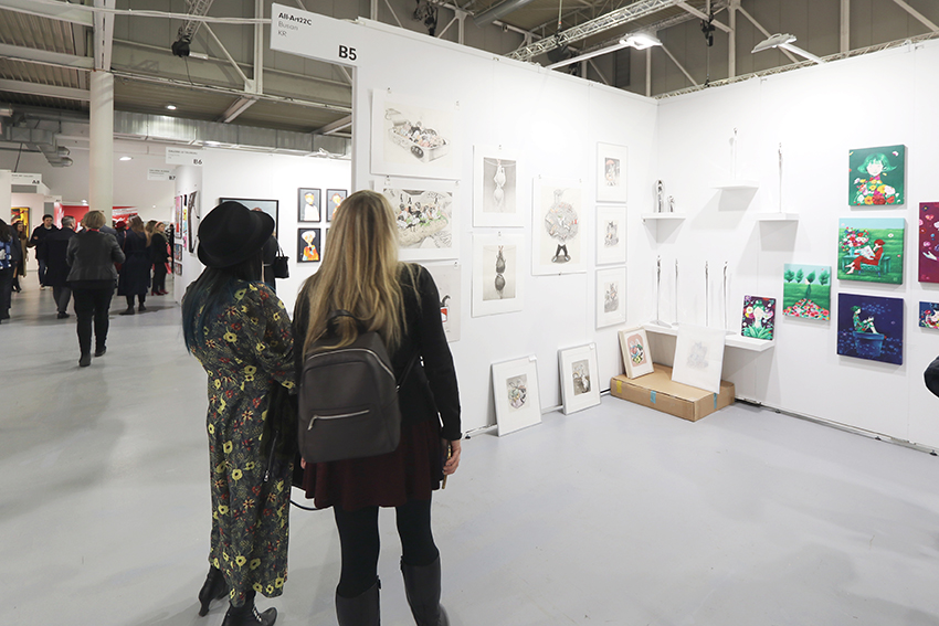 Oriente a Milano in cinque personalità artistiche. Yuki Harada nella visita ad AAF2020