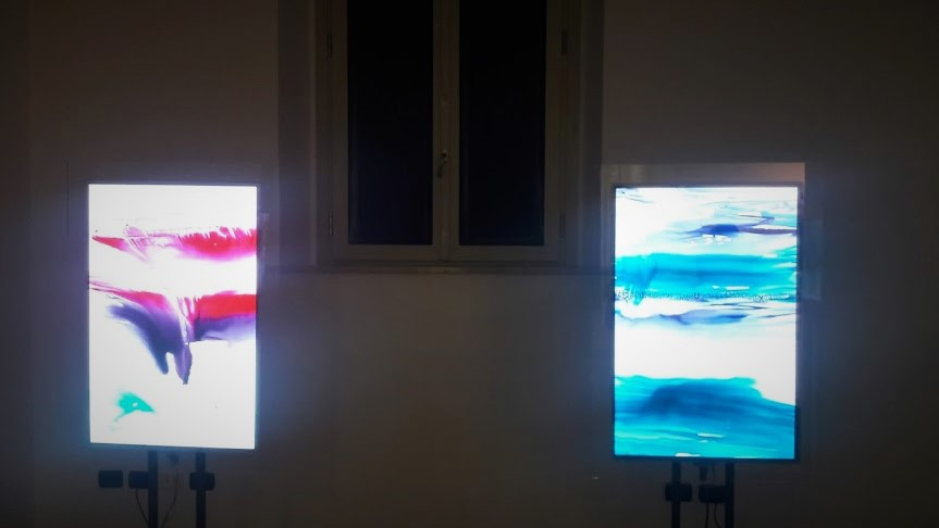 Acqua in mostra con Dream in light boxes di Maria Cristiana Fioretti