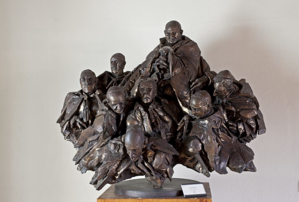 Il Museo Civico Floriano Bodini, bronzo dello scultore lombardo