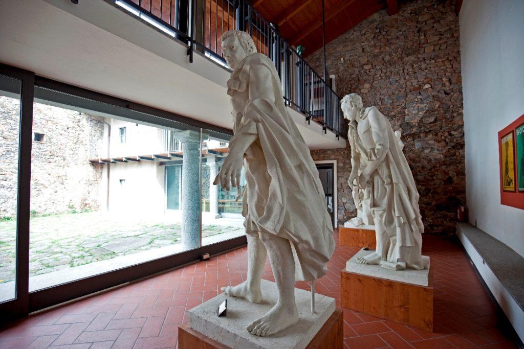Il Museo Civico Floriano Bodini. La gipsoteca che si affaccia sulla corte