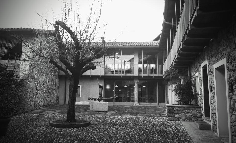 Il Museo Civico Floriano Bodini, la corte