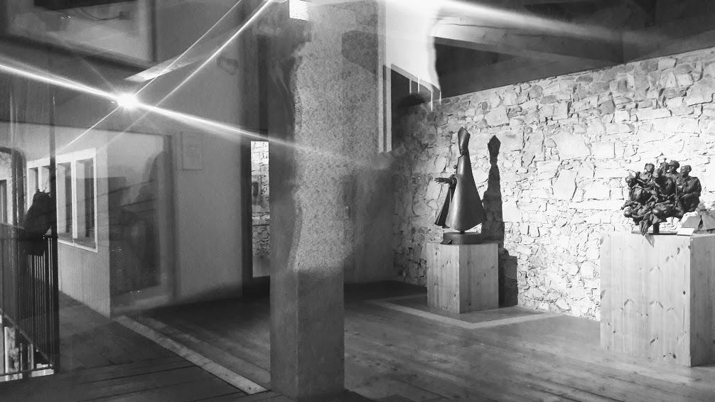 Il Museo Civico Floriano Bodini, loggiato