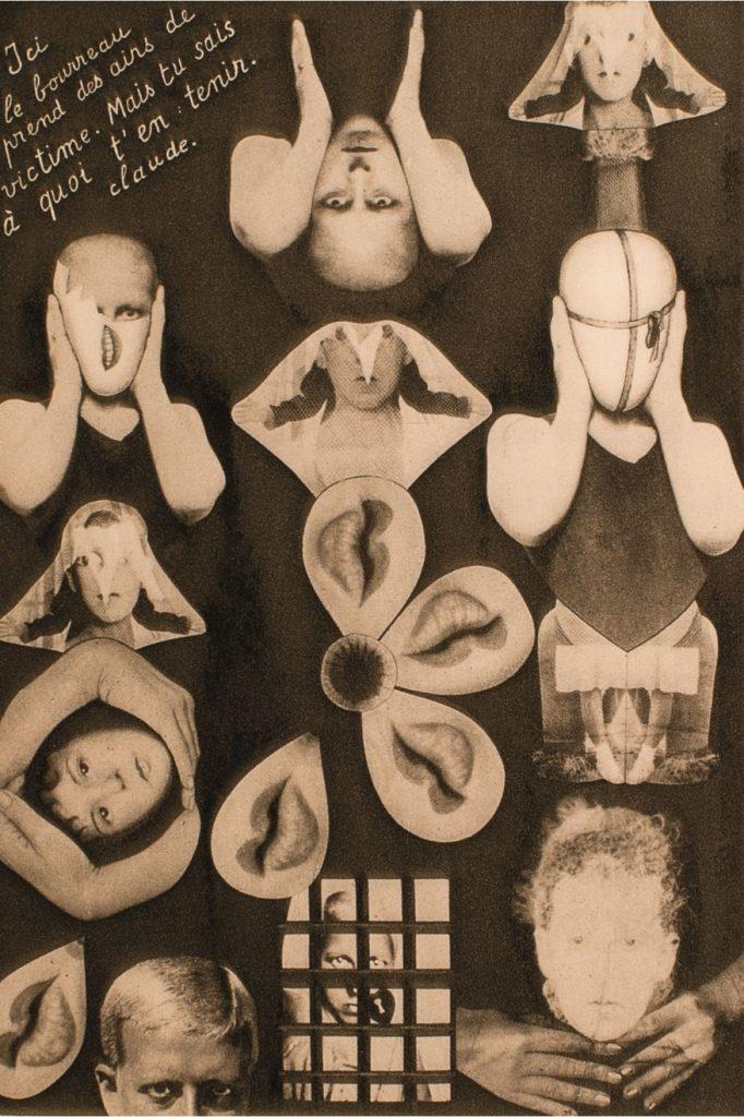Claude Cahun, composizione del 1930