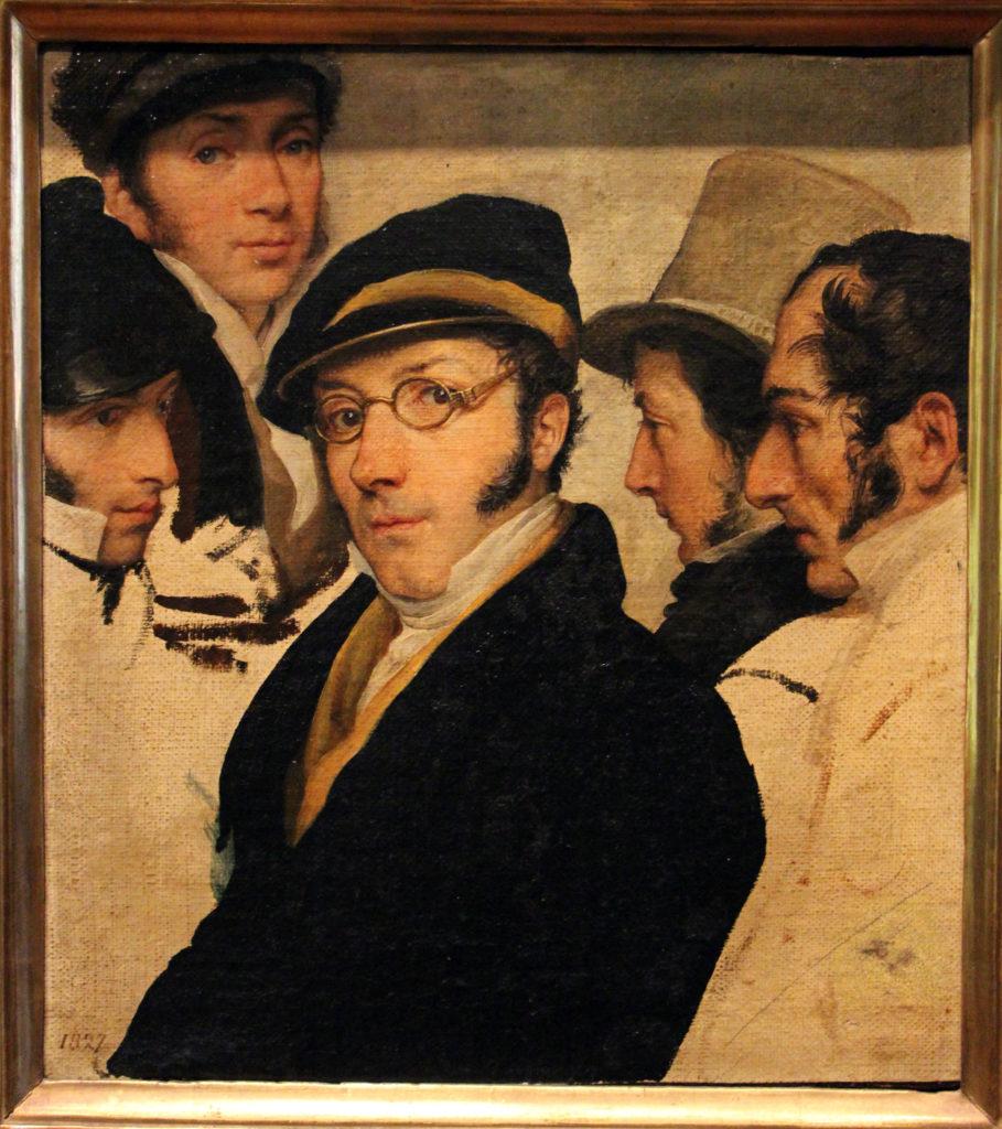 Cura ad Arte. Autoritratto Giovanile di F. Hayez.