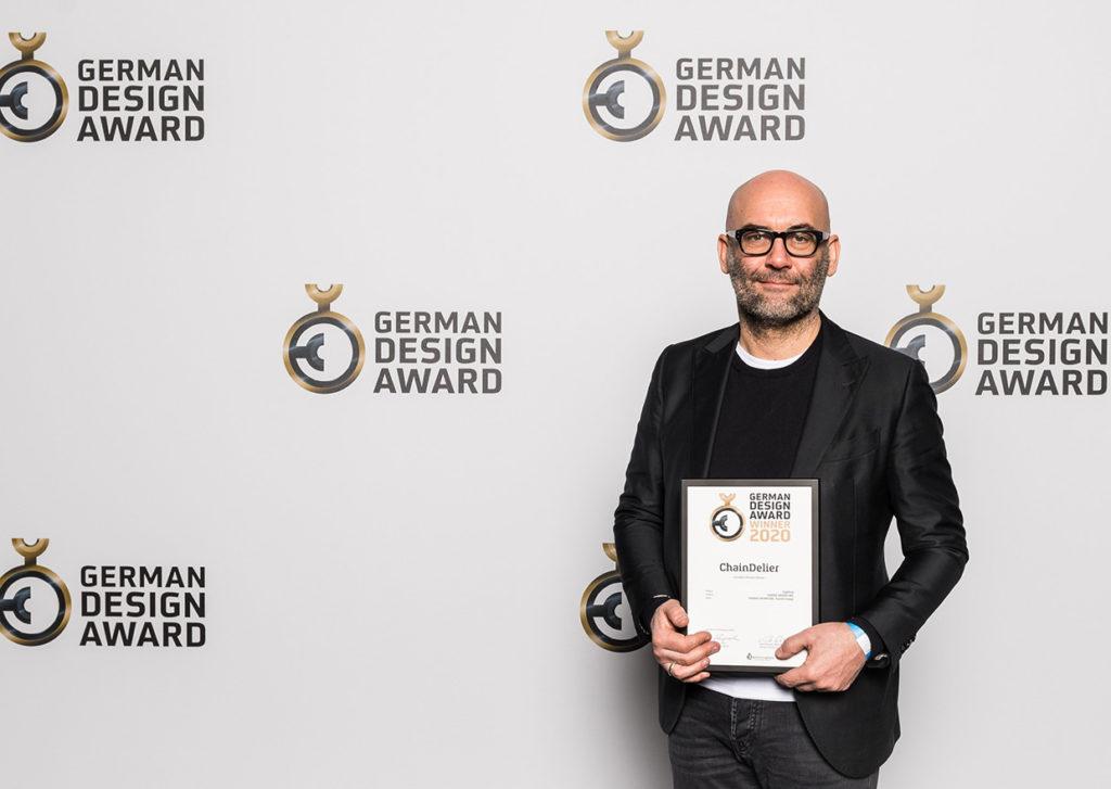 Il racconto della luce di Davide Groppi. German Design Award 2020