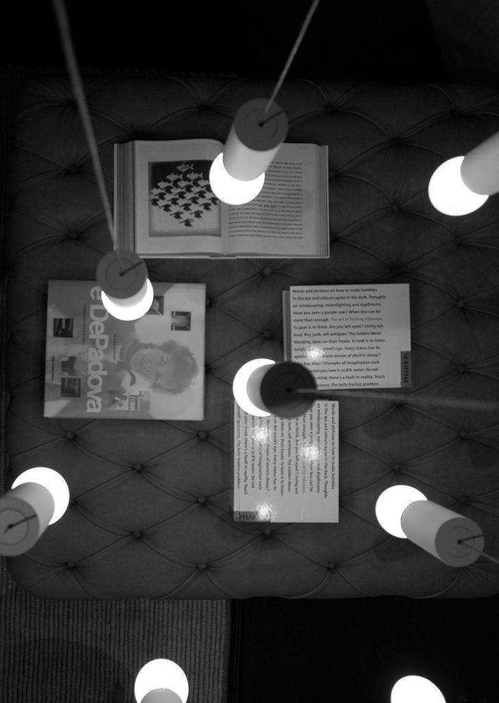 Il racconto della luce di Groppi, da De Padova