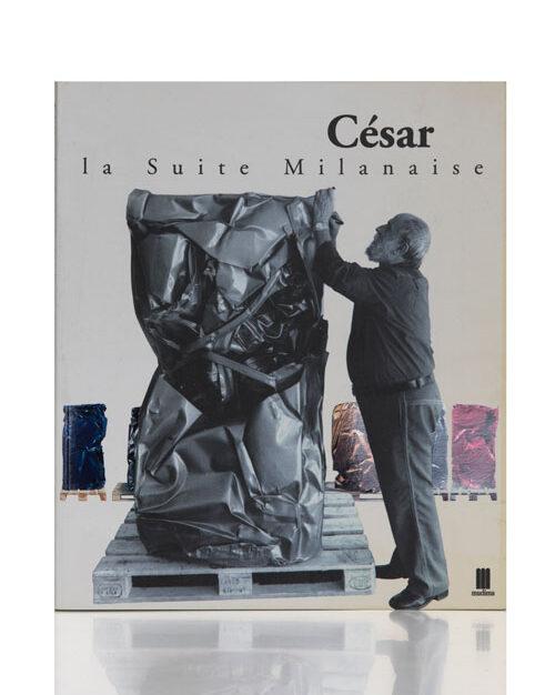 Cibo per l'arte. César in mostra, copertina catalogo Mudima