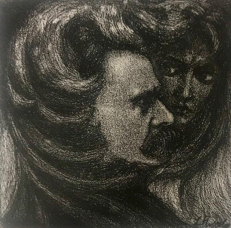Luigi Russolo, Nietzche,1909.
