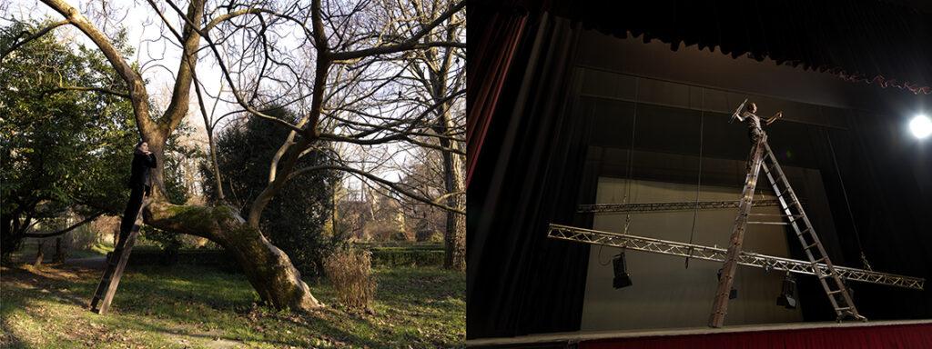 Il teatro abitato dalla città. Laura Cleri+Giardiniere dell'Orto Botanico