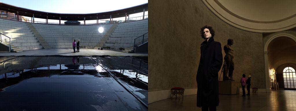Il teatro abitato dalla città.Luca Nucera+Guardiane della Galleria Nazionale