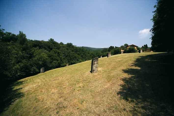 Arte ambientale della Collezione Gori. Richard Serra