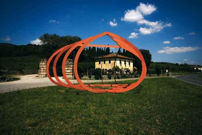 Arte ambientale della Collezione Gori. Alberto Burri