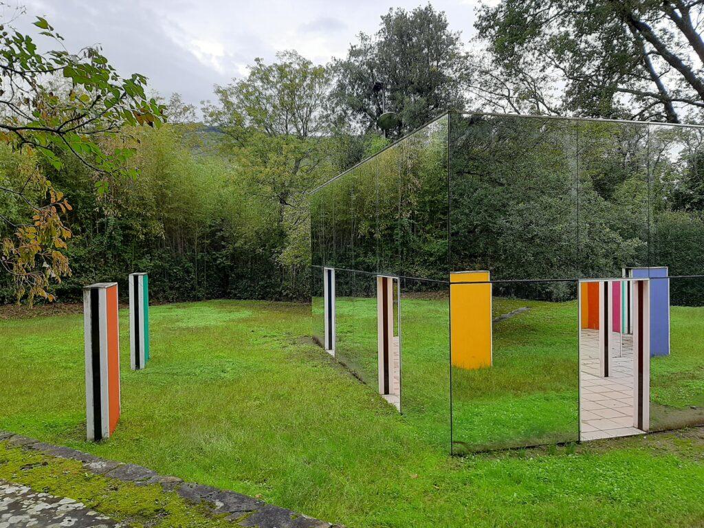 Arte ambientale della Collezione Gori. Daniel Buren
