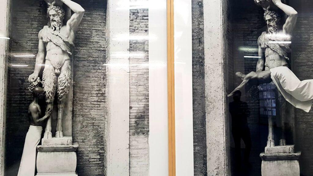 La ricerca di Zhang Huan. Due immagini di My Rome