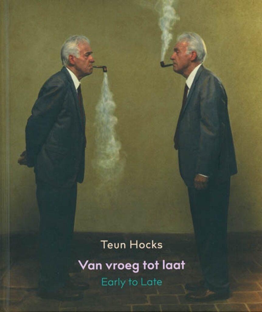 Teun Hocks. Copertina dell'antologia a lui dedicata nel 2019- artscore.it
