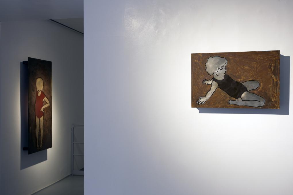 Tracce da MARCOROSSI artecontemporanea a Milano- artscore.it.