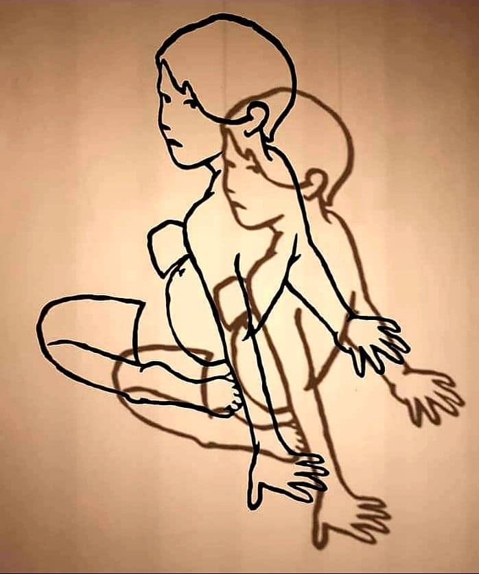 Tracce. Una scultura d'ombra di Valerio Berruti- artscore.it