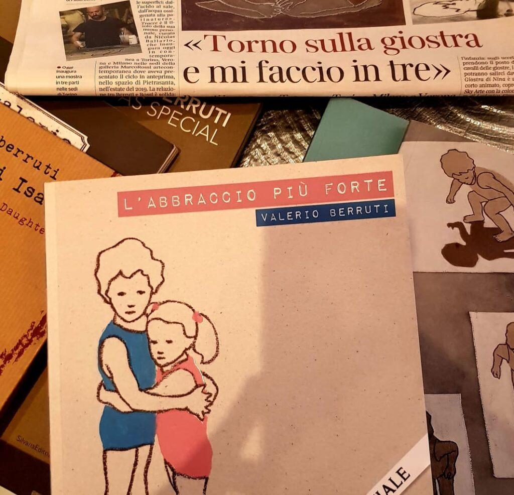Tracce di Valerio Berruti- cataloghi e pubblicazioni- artscore.it