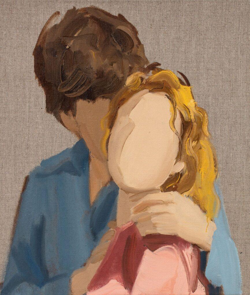 Volti senza identità. Gideon Rubin, The Couple, 2020. artscore.it