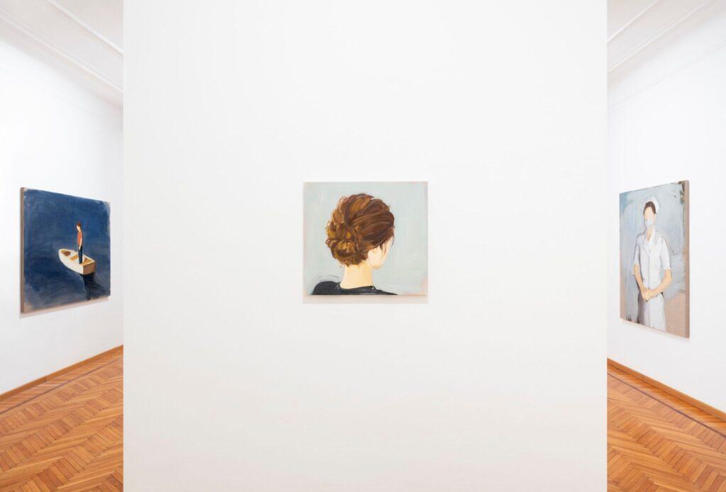 Volti senza identità di Gideon Rubin. De cardenas, installation view 2